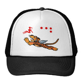 Flying Tigers WWII Nose Art Cap