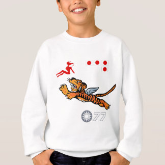 Flying Tigers WWII Nose Art Sweatshirt