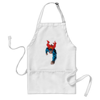 Flying towards the screen standard apron