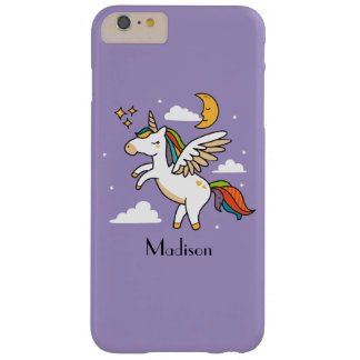 Flying Unicorn Barely There iPhone 6 Plus Case