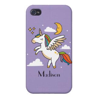 Flying Unicorn iPhone 4 Case