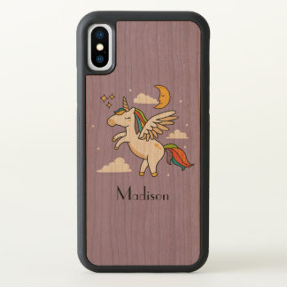Flying Unicorn iPhone X Case