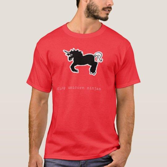 Flying Unicorn Ninjas T-Shirt