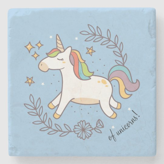 Flying Unicorn Stone Coaster