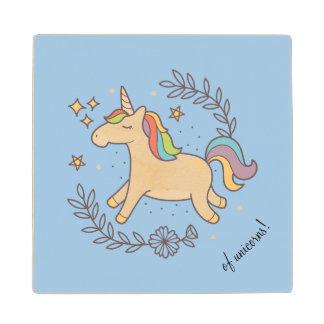 Flying Unicorn Wood Coaster