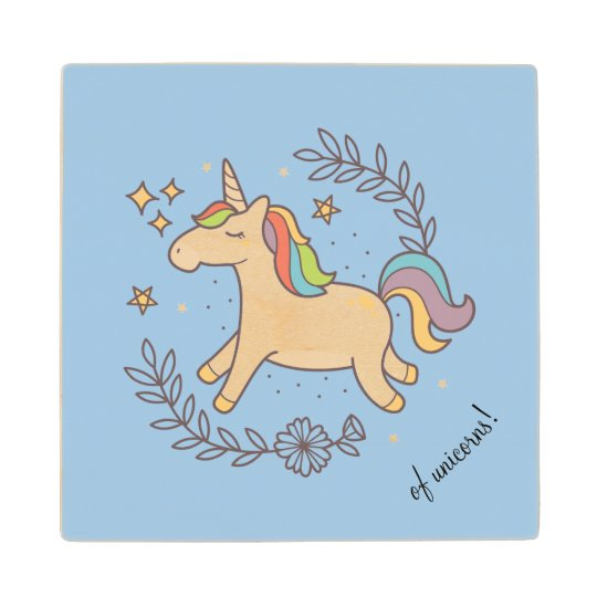 Flying Unicorn Wood Coaster