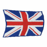 Flying Union Jack Embroidered Hoody