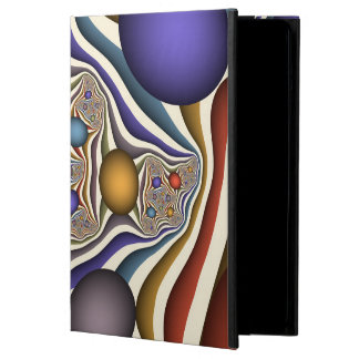 Flying Up, Colorful, Modern, Abstract Fractal Art Case For iPad Air