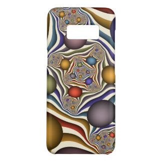 Flying Up, Colorful, Modern, Abstract Fractal Art Case-Mate Samsung Galaxy S8 Case