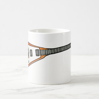 Flying V Guitar Coffee Mug