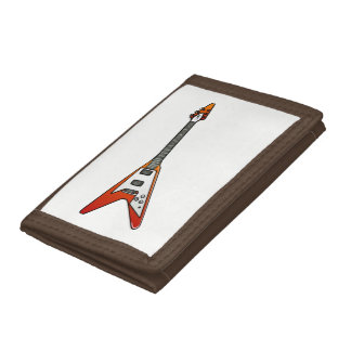 Flying V Guitar Trifold Wallet