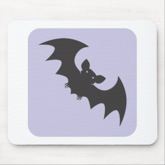 Flying Vampire Bat Icon Mouse Pads