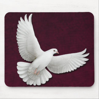 Flying White Dove Customizable Mousepad