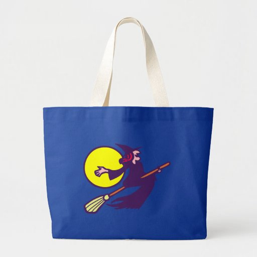 flying witch flying witch Halloween Tote Bag