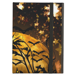 Flying Witch Harvest Moon Bats Halloween Gifts iPad Case
