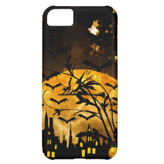 Flying Witch Harvest Moon Bats Halloween Gifts iPhone 5C Case