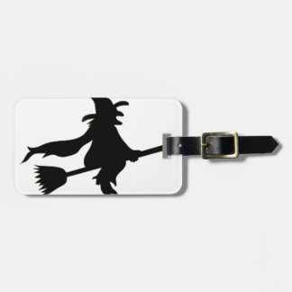 Flying Witch Tags For Bags