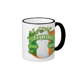 Flynn Irish Shield Ringer Mug