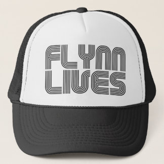 Flynn Lives Trucker Hat