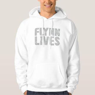 Flynn Lives Vintage Hoody Shirt