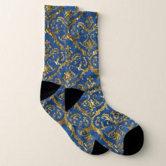 Flyology Lux Print blue Socks