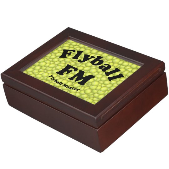 FM, Flyball Master Keepsake Box