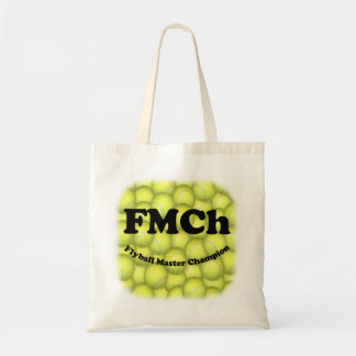 FMCh, Flyball Master Champion Budget Tote Canvas Bag