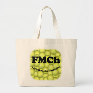 FMCh, Flyball Master Champion Jumbo Tote Bags