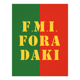 FMI Fora Daqui 21.5 Cm X 28 Cm Flyer