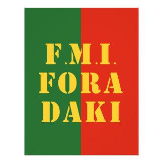 FMI Fora Daqui Full Color Flyer