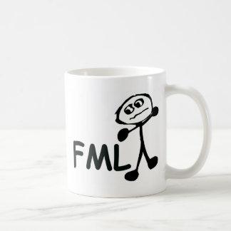 FML Cartoon Man Coffee Mug