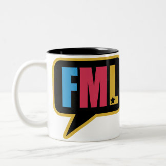 FML (Mug) Two-Tone Coffee Mug