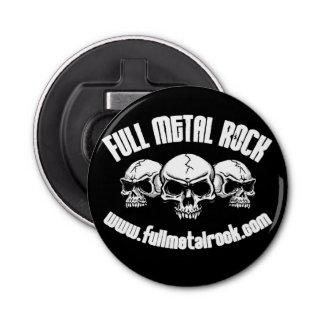 FMR Old Skool Skull Logo Bottle Opener