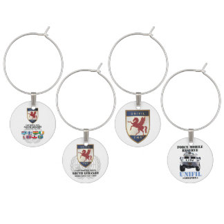 FMR Party 4 Wine Charms