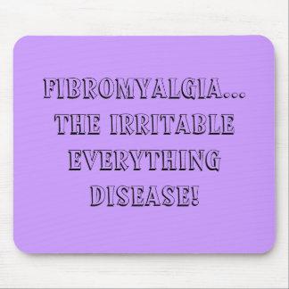 FMS irritable in purple - mousepad