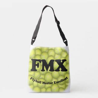 FMX, Flyball Master Excellent 10,000 Points Crossbody Bag