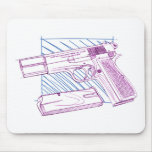 FN Browning High Power Mouse Pad