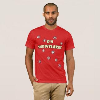 F'n Snowflakes Holiday T-shirt