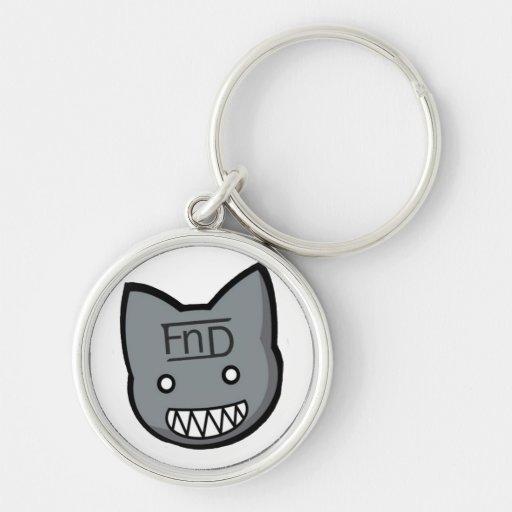 FnD Freaky Kittie Keychain Premium