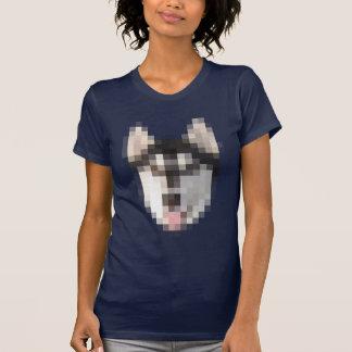 FNG Pixel Husky womens T-Shirt
