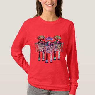FNG RAINBOW ROBOTS womens T-Shirt