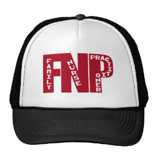 FNP Big Red Family Nurse Practitioner Gifts Cap
