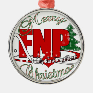 FNP BIGRED MERRY CHRISTMAS FAMILY NURSE PRACTIONER CHRISTMAS ORNAMENT