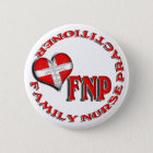 FNP CIRCULAR LOGO FAMILY  NURSE PRACTITIONER 6 CM ROUND BADGE