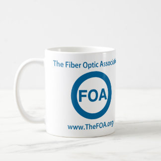 FOA logo coffee mug