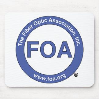 FOA logo mouse pad