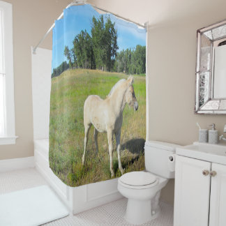 Foal Shower Curtain