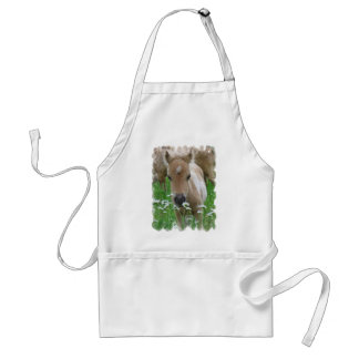 Foal Smelling Daisies Apron