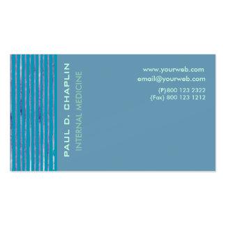 Foam Blue Cutting Edge Pack Of Standard Business Cards
