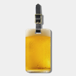 Foamy Beer Mug Luggage Tag